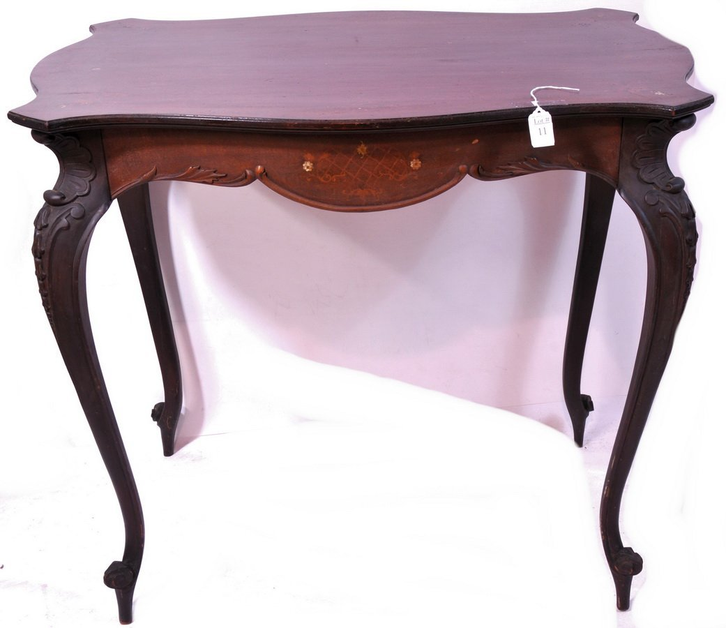 11: Mahogany Table