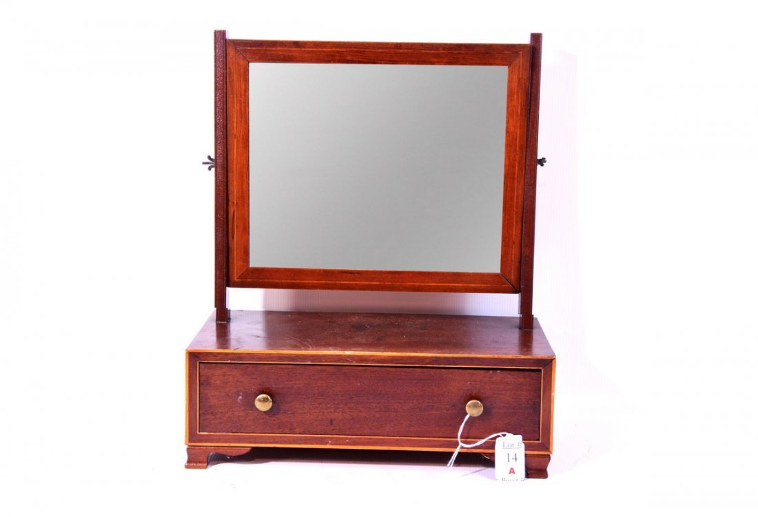 14A: OG Shaving stand/Mirror 16x14