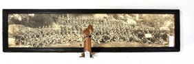 """Trench Art Piece with 5 Spoons 4 3/4"""" also Panoramic Ph"""
