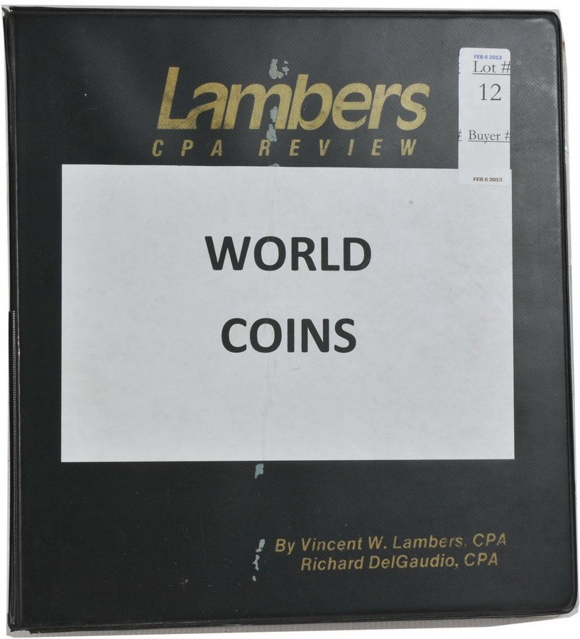 Binder of World Coins