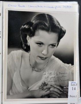 Album full of autographed photos of actors