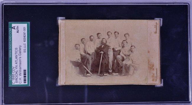 1865 Brooklyn Atlantics CDV
