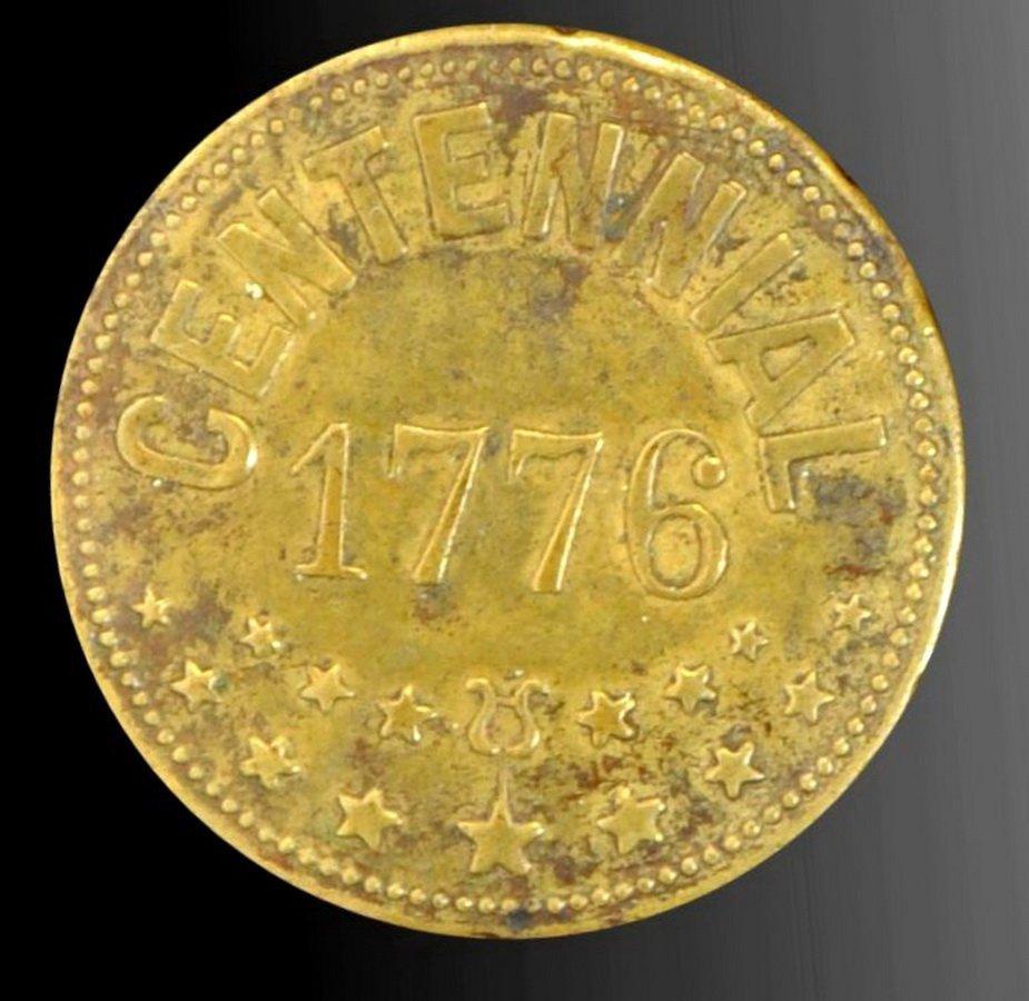 1876 Centennial Exposition Lapel Badge(SC2)