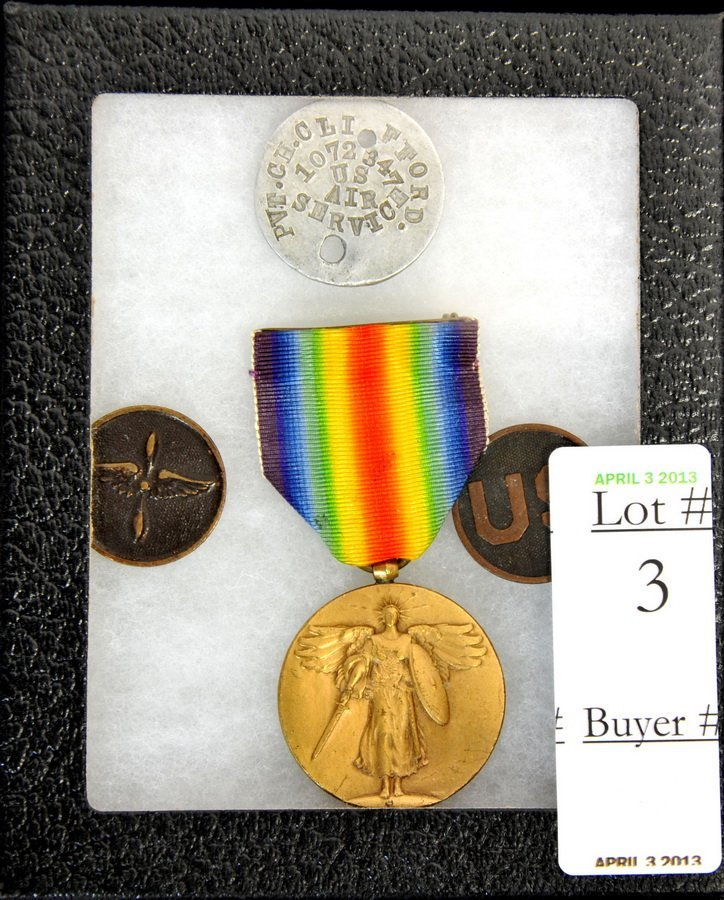 Collection of Four US Medals including Air Service(SC2)