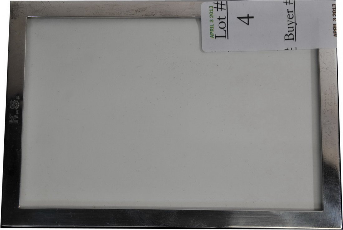 Tiffany and Company Sterling Silver Picture Frame(SC1)