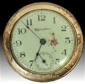 14 Kt Gold Hampden Ladies Pocket Watch SC2