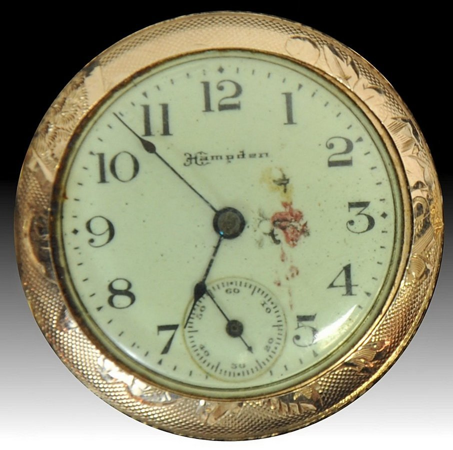 14 Kt. Gold Hampden Ladies Pocket Watch (SC2)