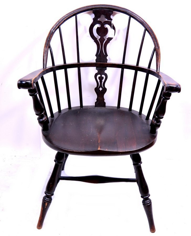 Pine Windsor arm chair(CG