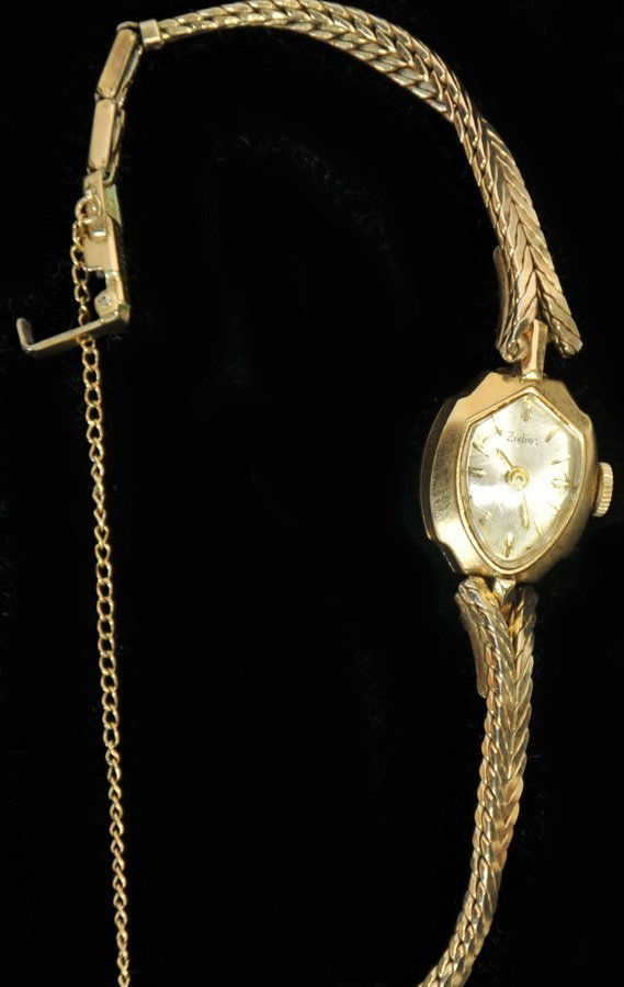 14Kt. Gold Zodiac Ladies Wrist Watch(SC2)