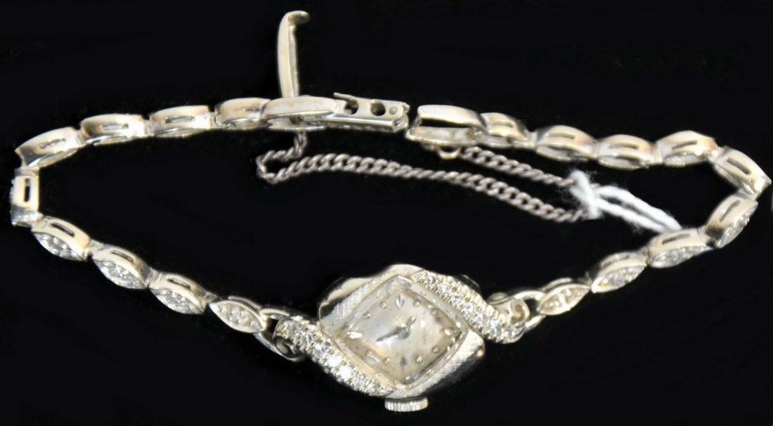 14Kt. White Gold Ladies watch(SC1)