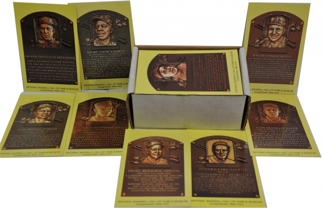 210 Hall Of Fame Plaque Cards/SC3