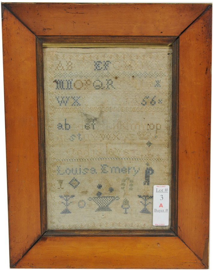 19th Century Alphabet Sampler/FRONT