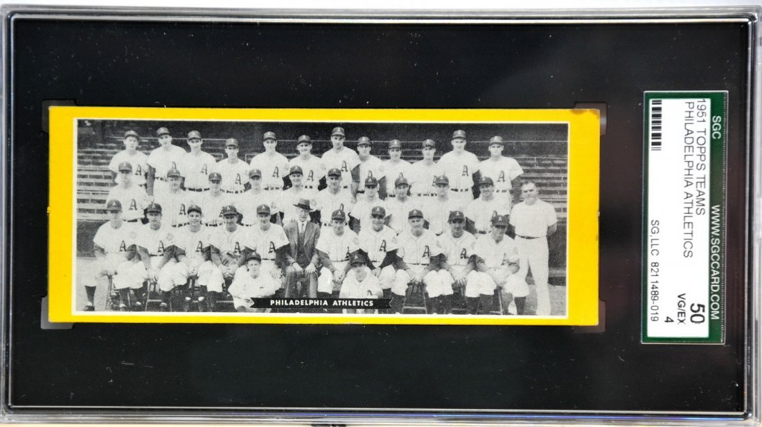 1951 Topps Teams Philadelphia Athletics/SC2