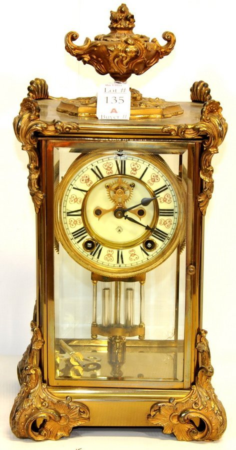 "Ansonia Shelf  Clock 14""/BS"