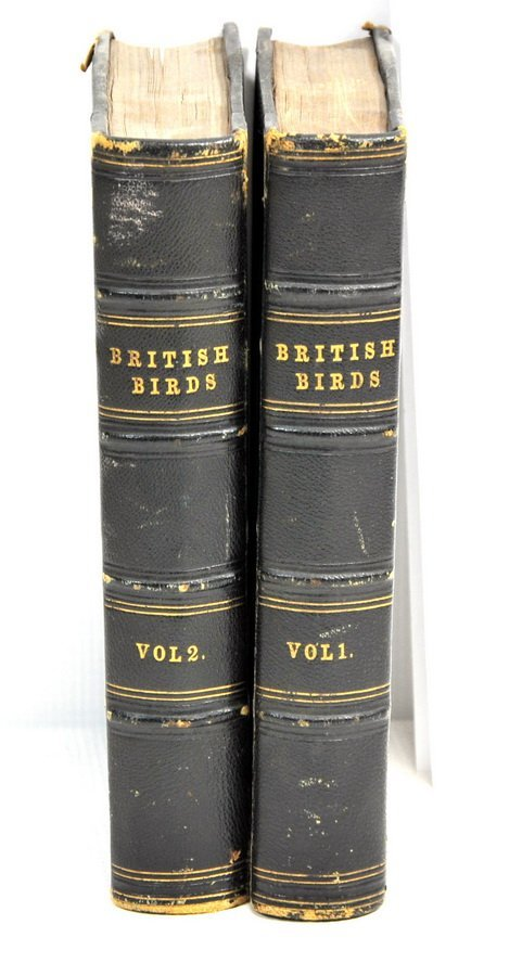1832 History of British Birds Vol. 1 and 2  CG