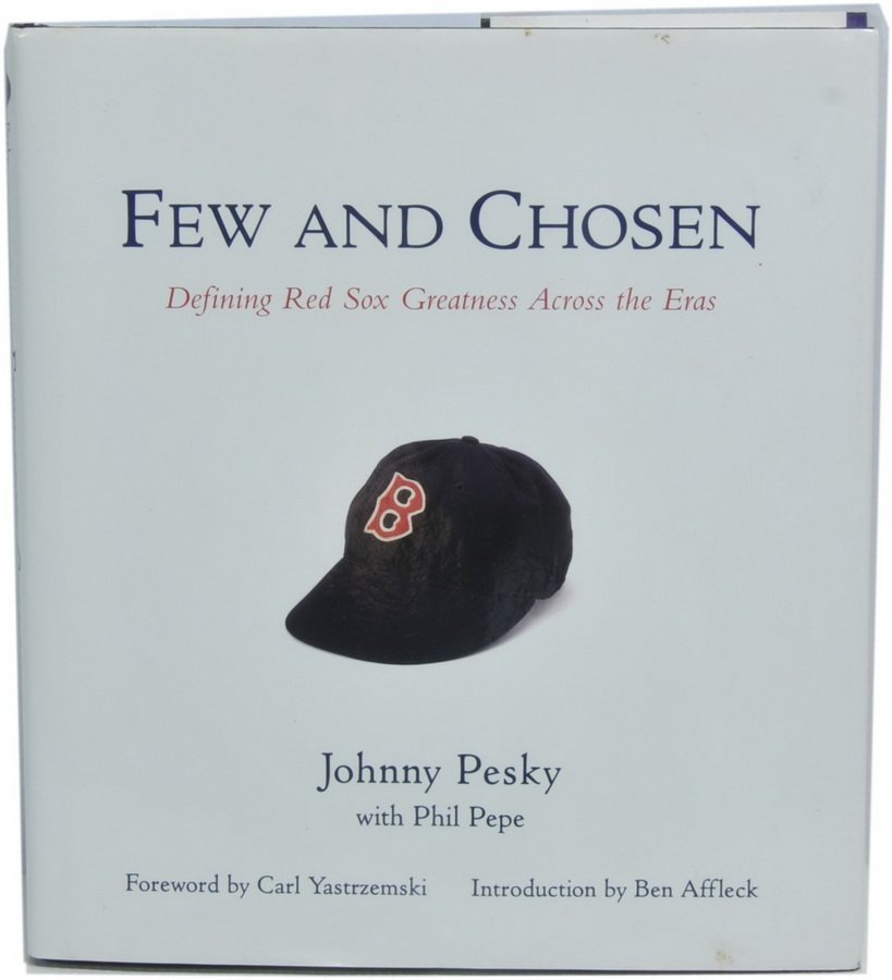 Johnny Pesky Autographed Book  BS