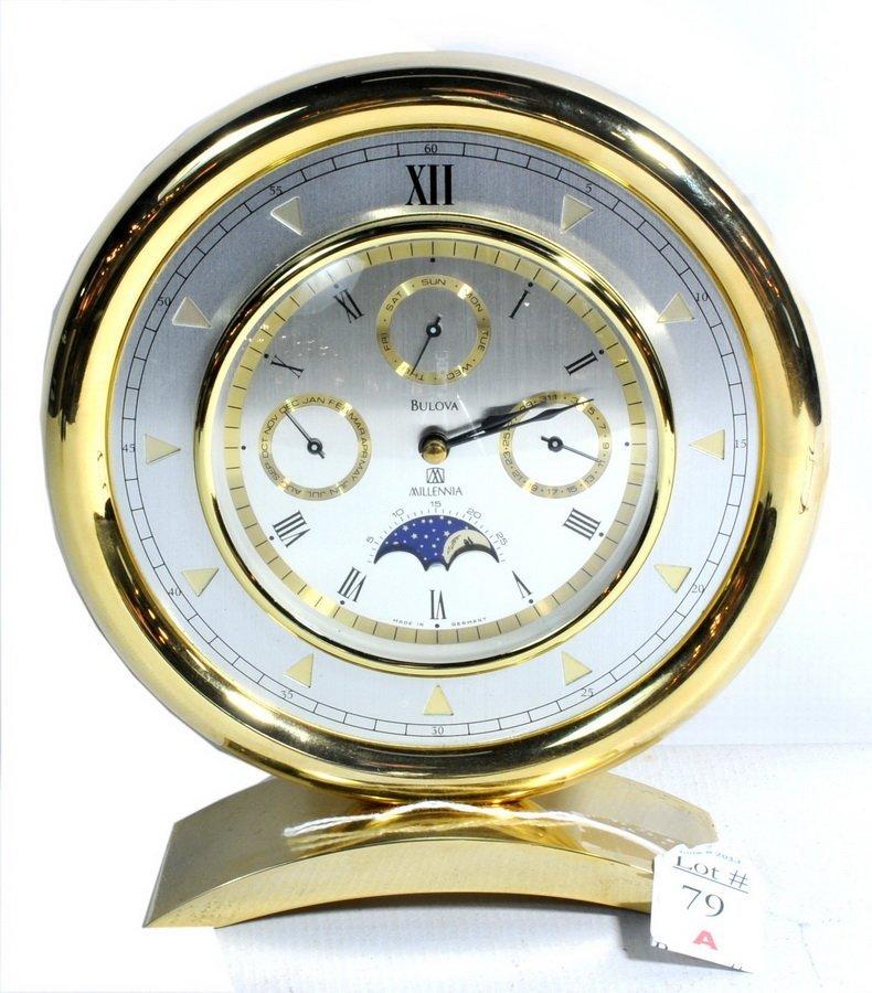 Bulova Millennia Table Clock  T1