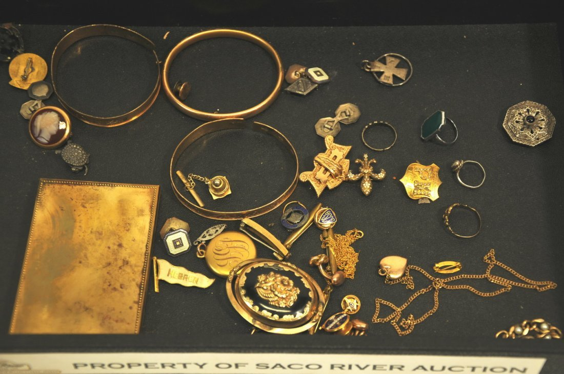Collection of Gold filled and sterling jewelry