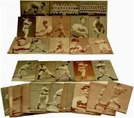37 1939-1955 Baseball Exhibit Cards