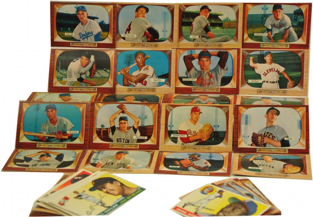 Estate Collection of 1950's Baseball card