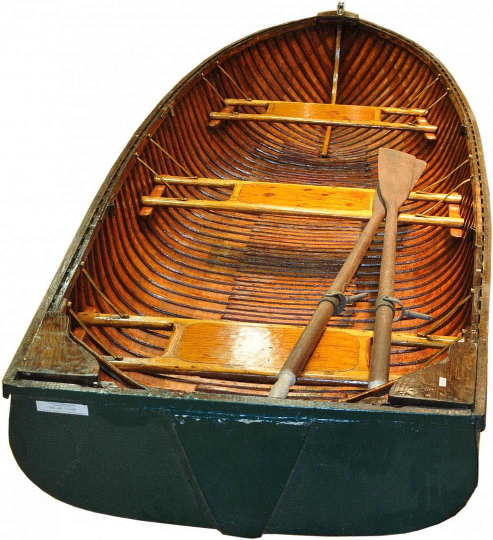 "12' Wood and Canvas Boat.  Penn Yan ""Car Topper"" - 2"