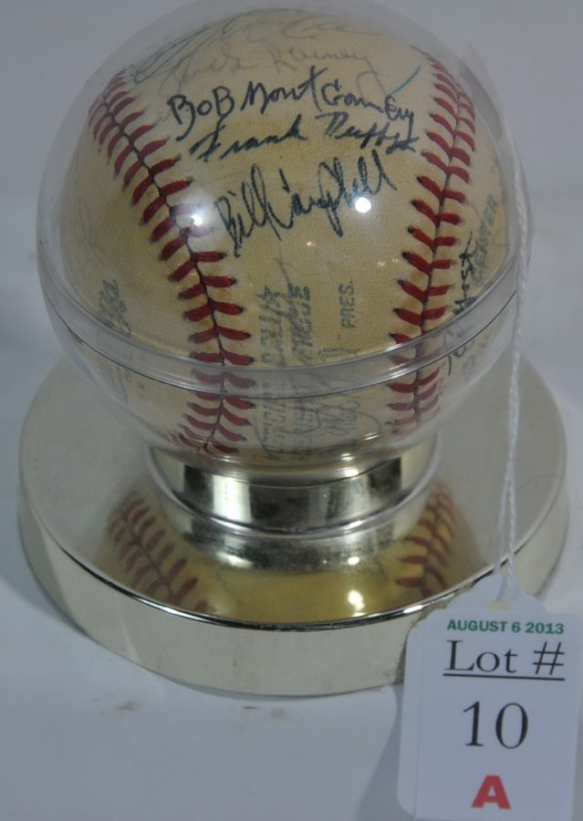 1960's Red Sox Team Signed Ball