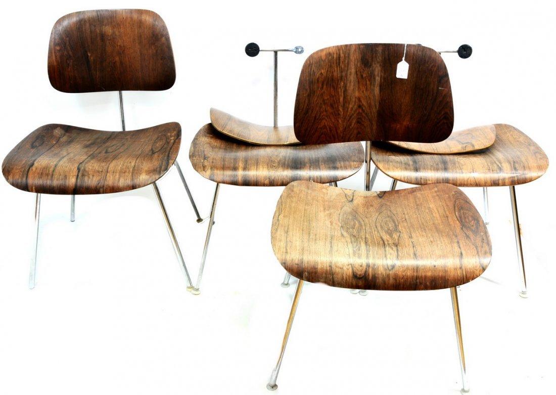 Set of four Eames LCM