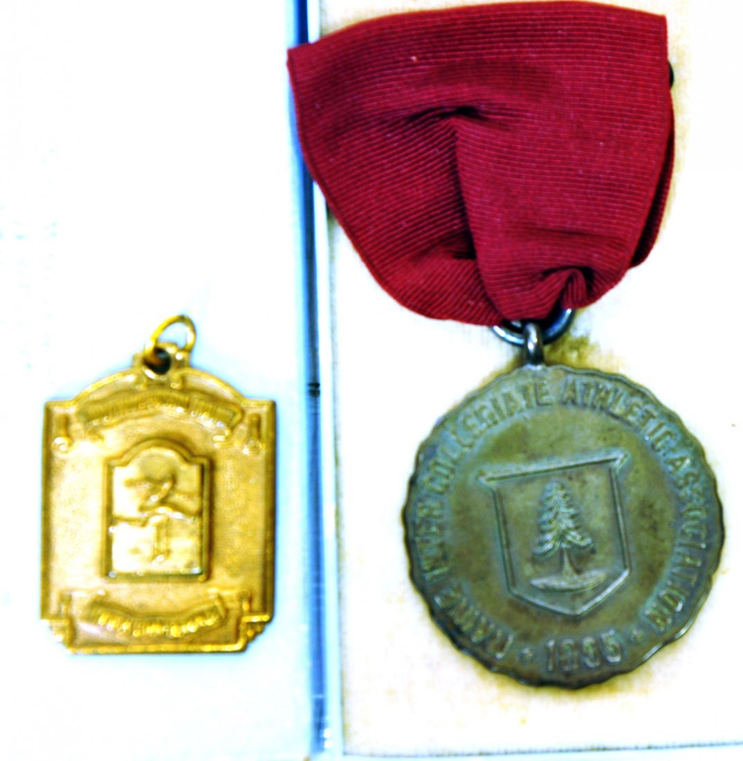 Two Early Maine Track and Field Medals