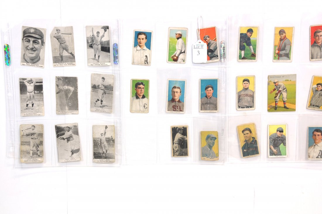 Collection of 26 Old Baseball cards