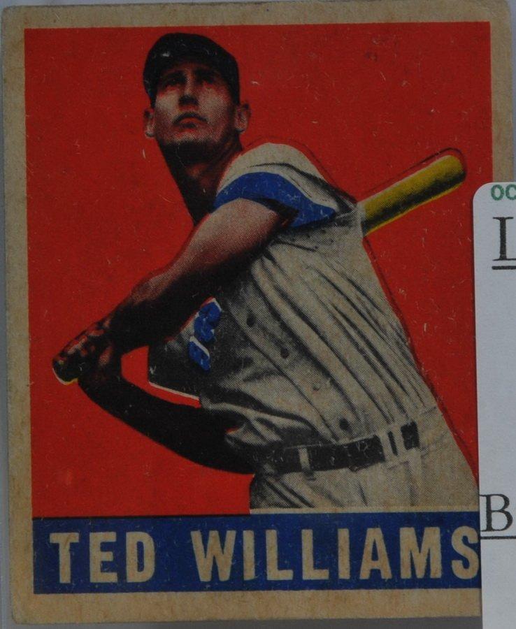 1945 Leaf Ted Williams Card