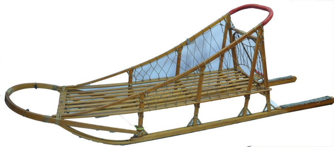 Fine Handcrafted Dog Sled by Ed Moody