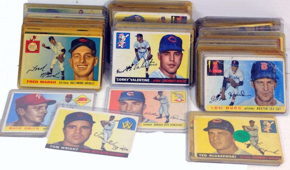 55  1955 Topps Baseball cards