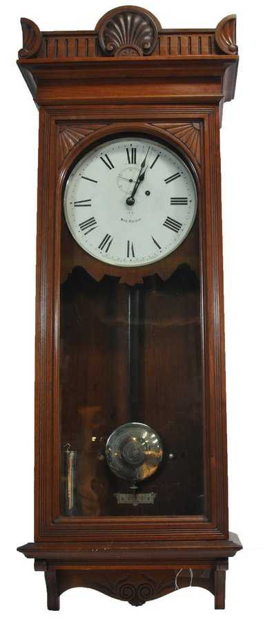 Seth Thomas 9 Weight Driven Regulator Wall Clock