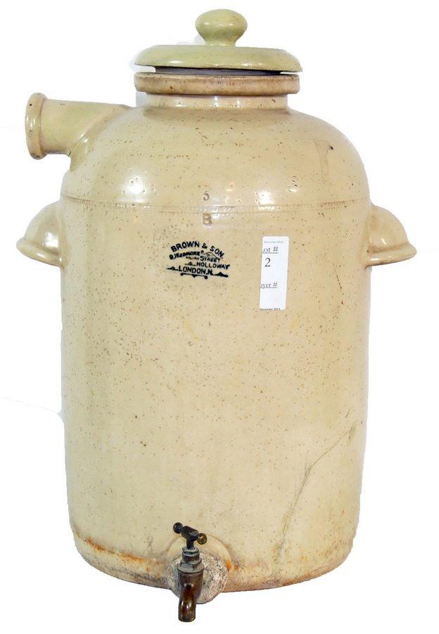 """Stoneware Water Cooler 20"""""""
