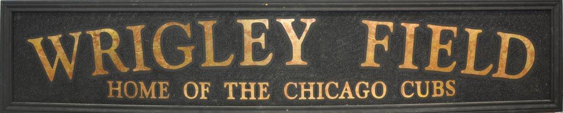 "7"" Wrigley Field Sign"