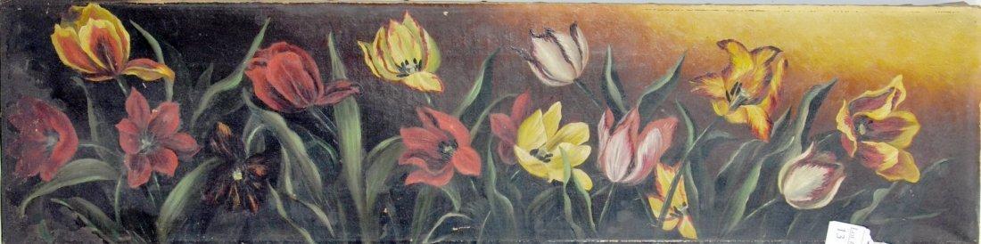 Oil on Canvas Still Life 36x9