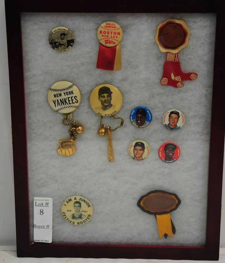 Excellent collection of Pins and Buttons