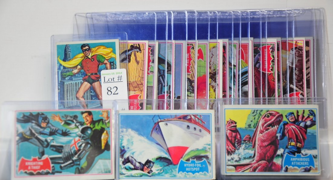 21 1966 Batman Cards