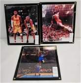 Three Autographed Photos