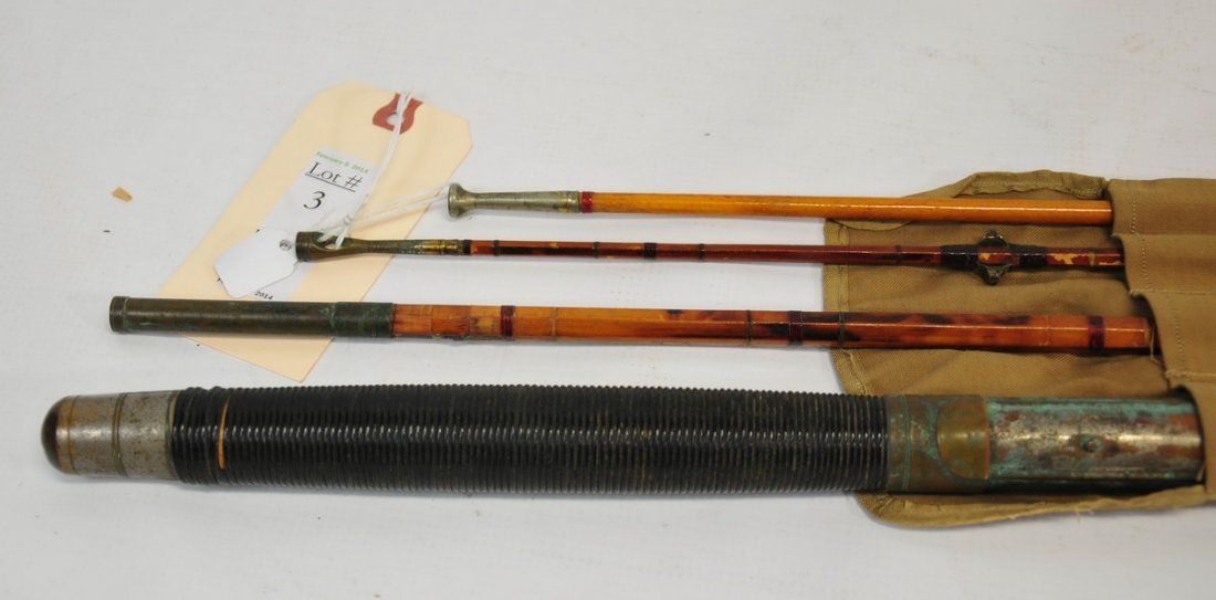 Late 19th Century Bamboo Rod