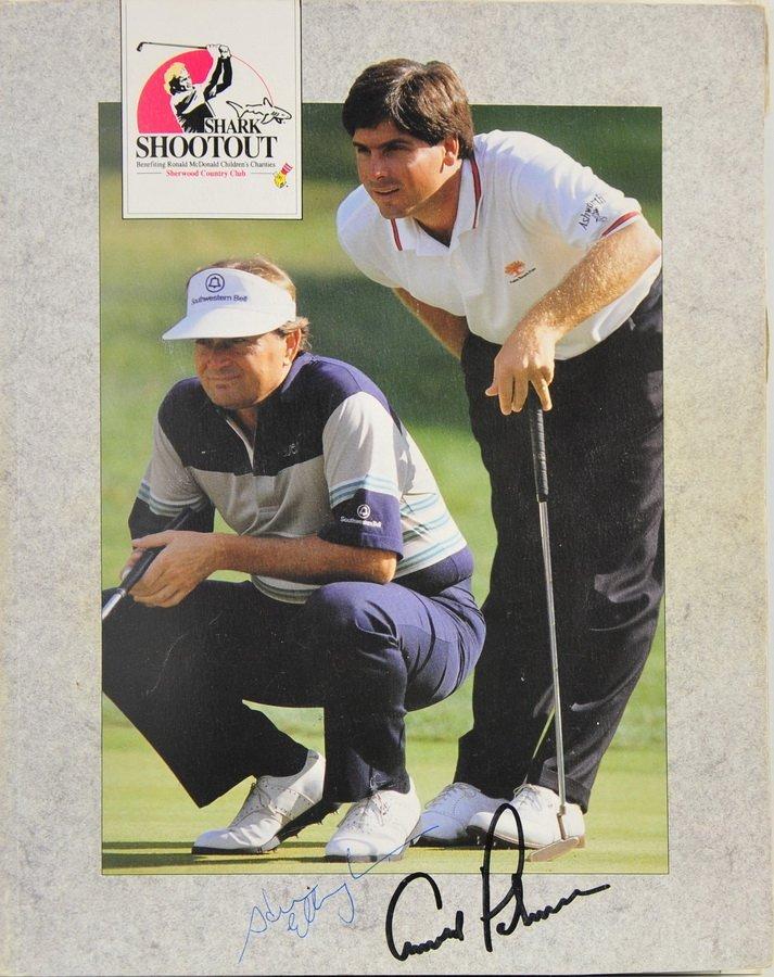 Golfing Program signed by 22 Pros