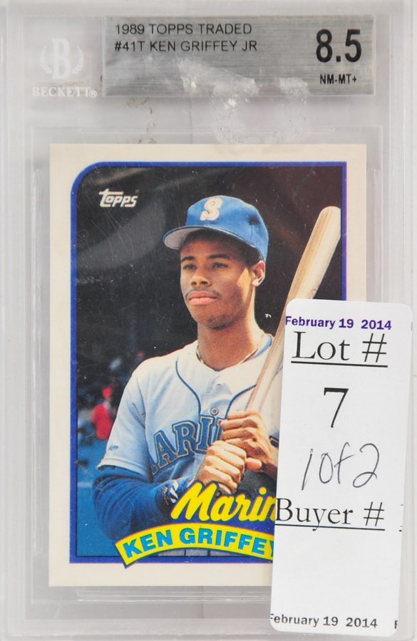 Mark McGwire and Ken Griffey Jr. Rookies Graded