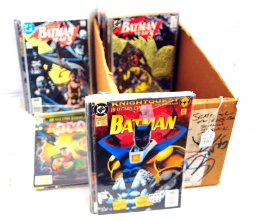 Collection of 69 Batman Comics