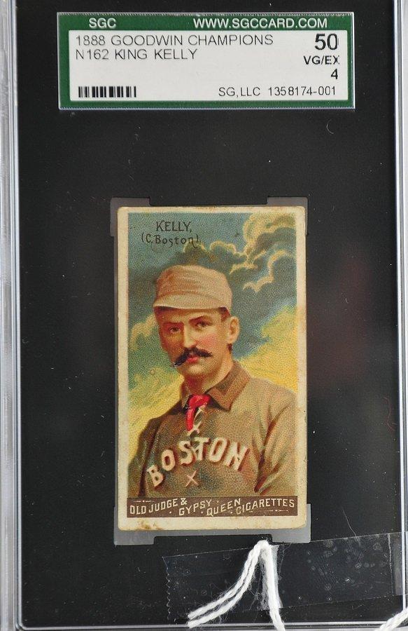 1888 N162 King Kelly Graded SGC 50 4