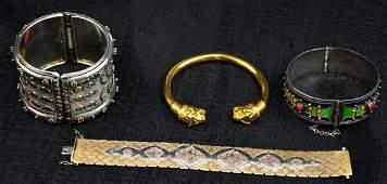 Lot of 4 Unique Bracelets