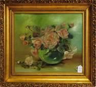 Oil On Board by Anna Eliza Hardy 1839-1934