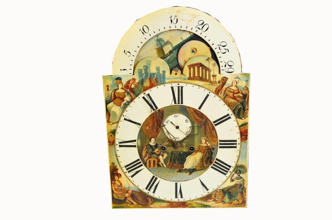"8 Day Tall Clock 98"" High - 3"