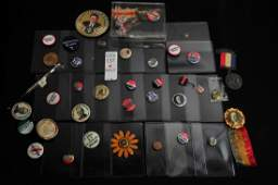 Lot of Vintage Political Buttons