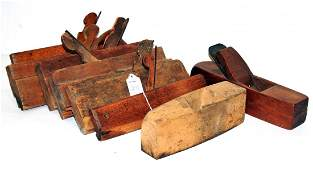 Lot of 15 Antique Wooden Planes