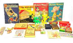 Mixed Estate Ephemera and Toy Lot